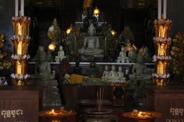 A Pogoda is a certain kind of temple where monks live.